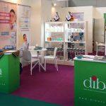 diba tejarat company in cosmoprof exhibition
