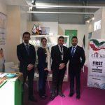 diba tejarat company in cosmoprof exhibition, شرکت دیبا تجارت در Cosmoprof