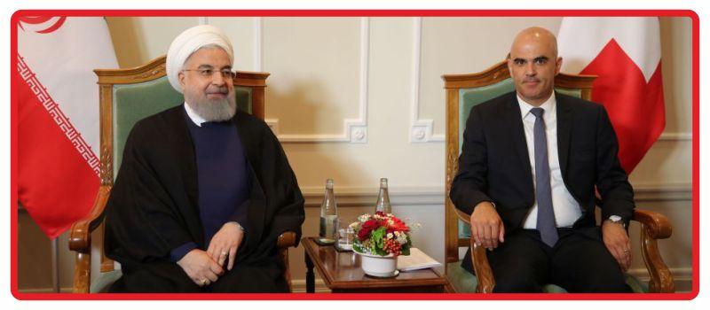 سفر روحانی به سوئیس و اتریش و همراهی شرکت دیباتجارت خاورمیانه در قالب هیئت همراه